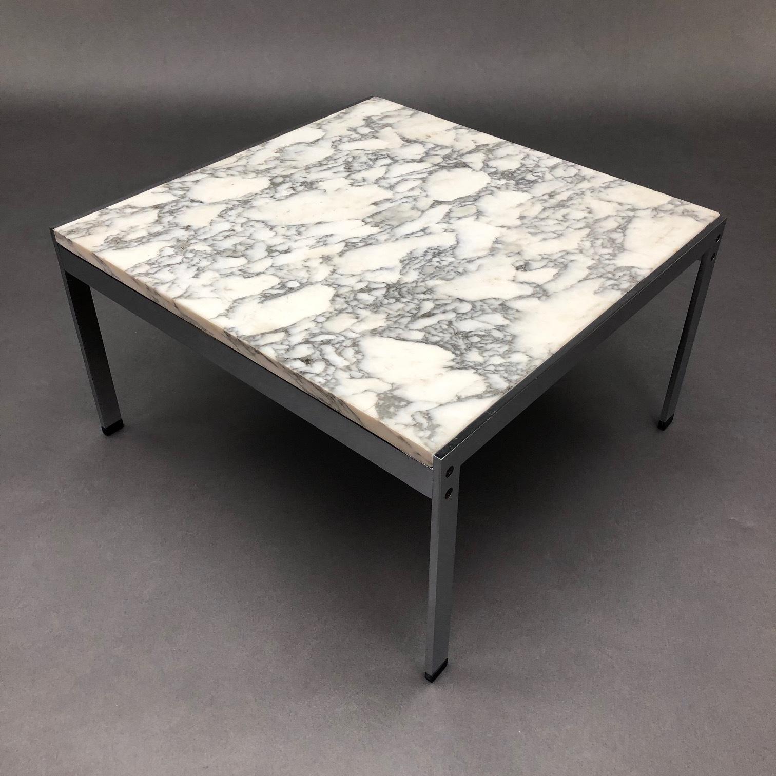 table basse marbre ann es 70 linea due. Black Bedroom Furniture Sets. Home Design Ideas